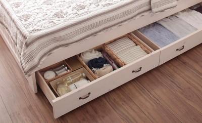 一人暮らし 部屋 狭い 収納 ベッド下