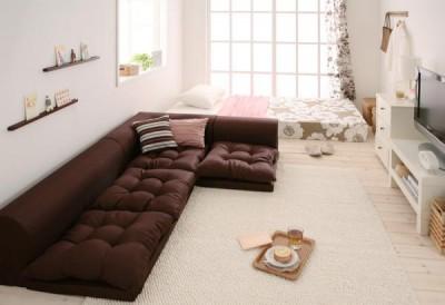 一人暮らし 部屋 狭い 広く見せる 低い家具