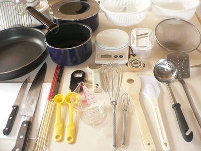 一人暮らし 最低限必要なもの 調理器具